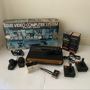 Atari 2600 Console with Games Bundle